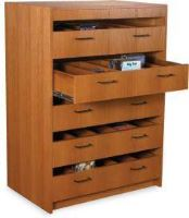 5 drawer CD wood cabinet resize