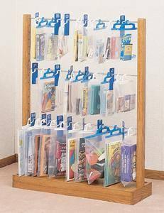 wooden 3 tiers hangbag rack