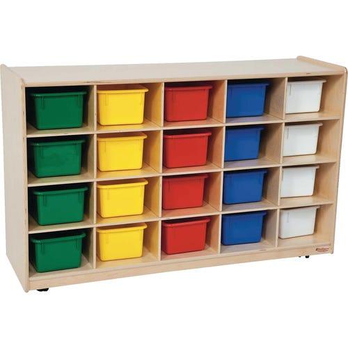 cubbies cabinet
