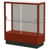 low height glass case